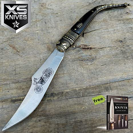 Amazon.com: SURVIVAL STEEL - Cuchillo de cuchilla de acero ...