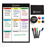 Colore Snow-White Large Dry Erase Magnetic