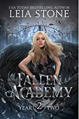 Fallen Academy: Year Two Kindle Edition