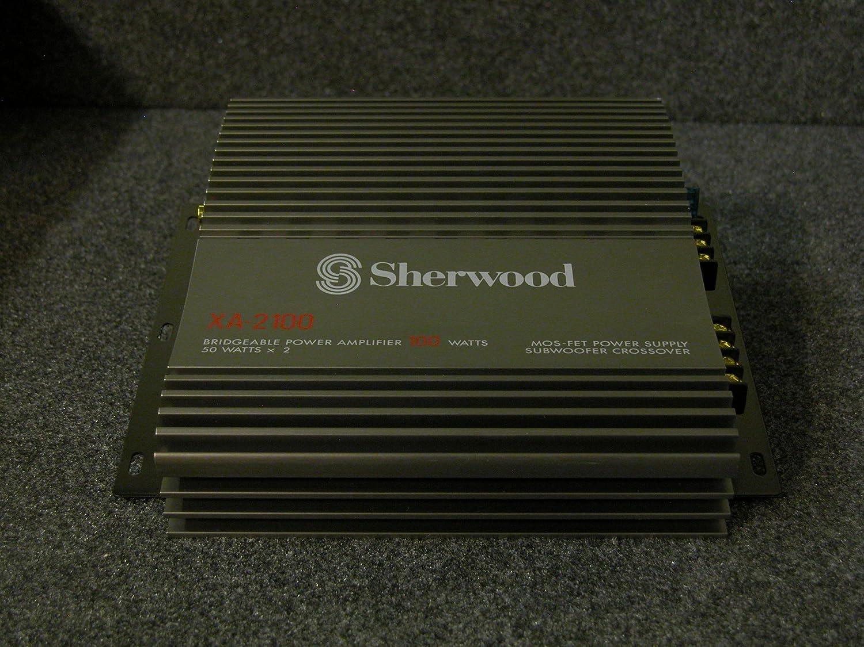 Sherwood Xa 2100 2 Channel 50w X Watt Power Amplifier 50 Car Electronics