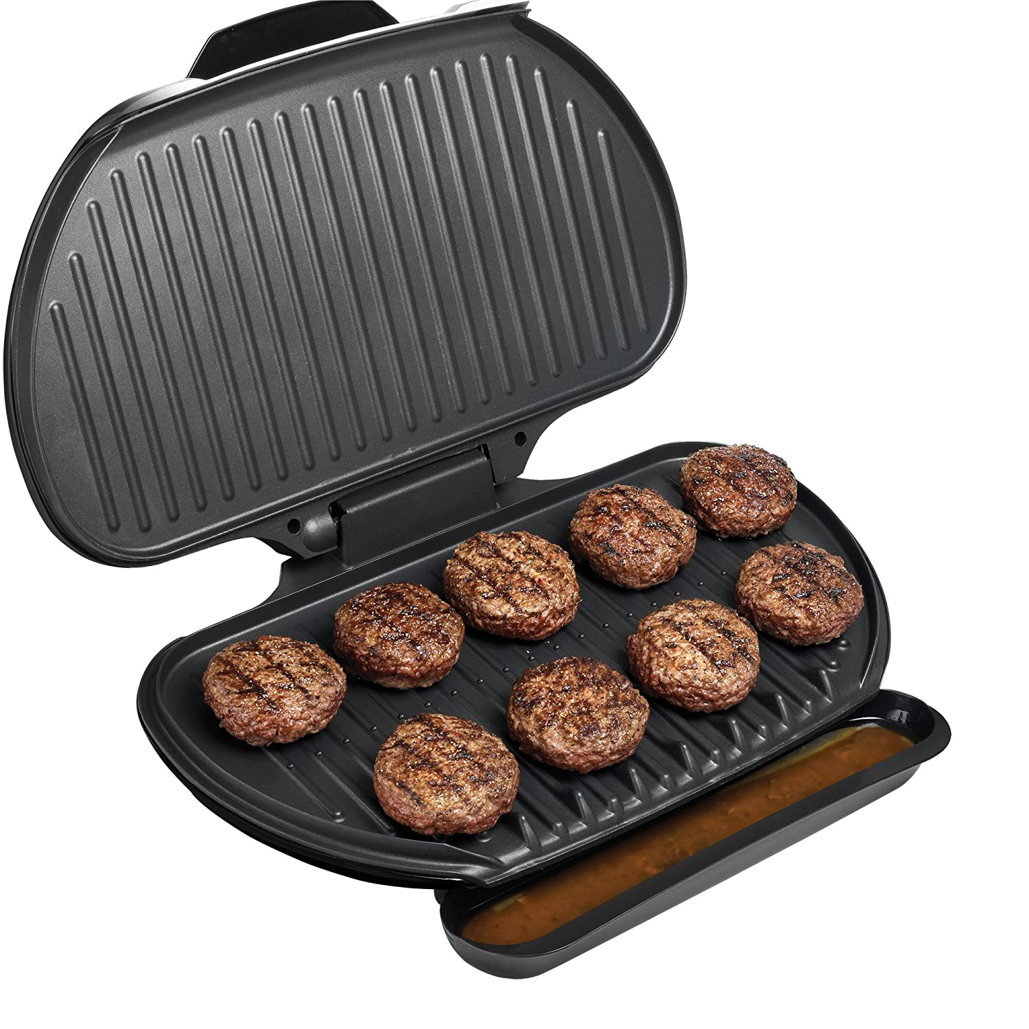 George foreman grill family size indoor electric large for George foreman grill fish