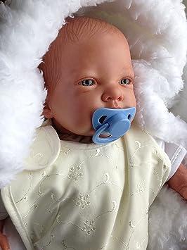 Amazon.es: Reborn CBOYPVDBS - Muñeco bebé Celia, pesado, 48 ...