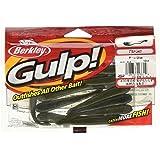 Pack of 12 3-Inch Berkley GL3-BL-X Gulp Leech Black