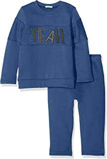 United Colors of Benetton Baby-Jungen Completino Set Pantalone T-s Righe Bekleidungsset