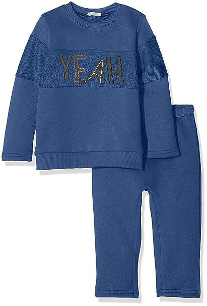 United Colors of Benetton Set Sweater+Trousers, Conjunto para Bebés (Pack de 2): Amazon.es: Ropa y accesorios