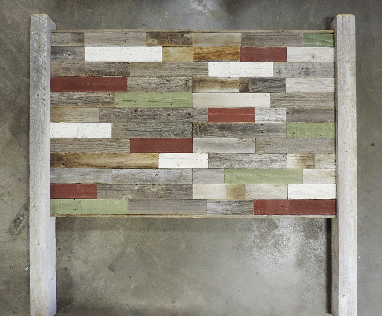 Amazon.com: Reclaimed Wood Queen Sized Bed Headboard\