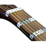 FRETNOTE Stickers for Guitar - 6-String RH Fretboard Notes (25 Labels) with Online Learning Aids