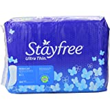 Stayfree Ultra Thin Pads for Women, Regular - 44 Count