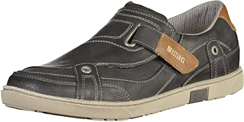 Mustang - Mocasines Hombre , color gris, talla 48 EU: Amazon.es: Zapatos y complementos