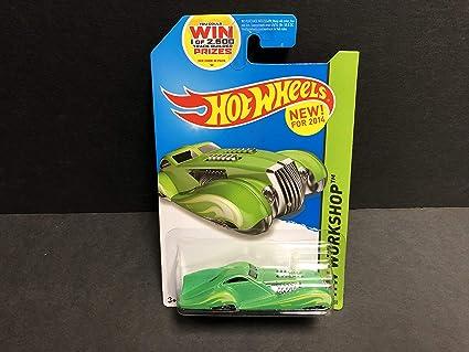 Green Version 2014 Hot Wheels HW WORKSHOP Screamliner 204//250