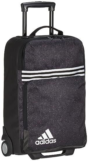 4c375d1855 adidas Team Travel Trolley Sac de Voyage Mixte Adulte, Black/White, Taille  Unique