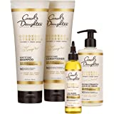 Carol's Daughter Goddess Strength 4 Piece Hair Care Gift Set With Sulfate Free Shampoo, Fortifying Conditioner, Strengthening