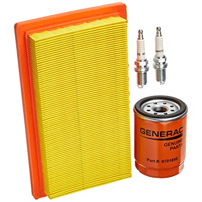 Generac 6485 Scheduled Maintenance Kit for 20kW and 22kW Standby Generators with 999cc Engine: Home Improvement