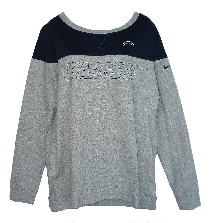 ed1988ec Amazon.com : Los Angeles Chargers Women's Size X-Large Long Sleeve ...