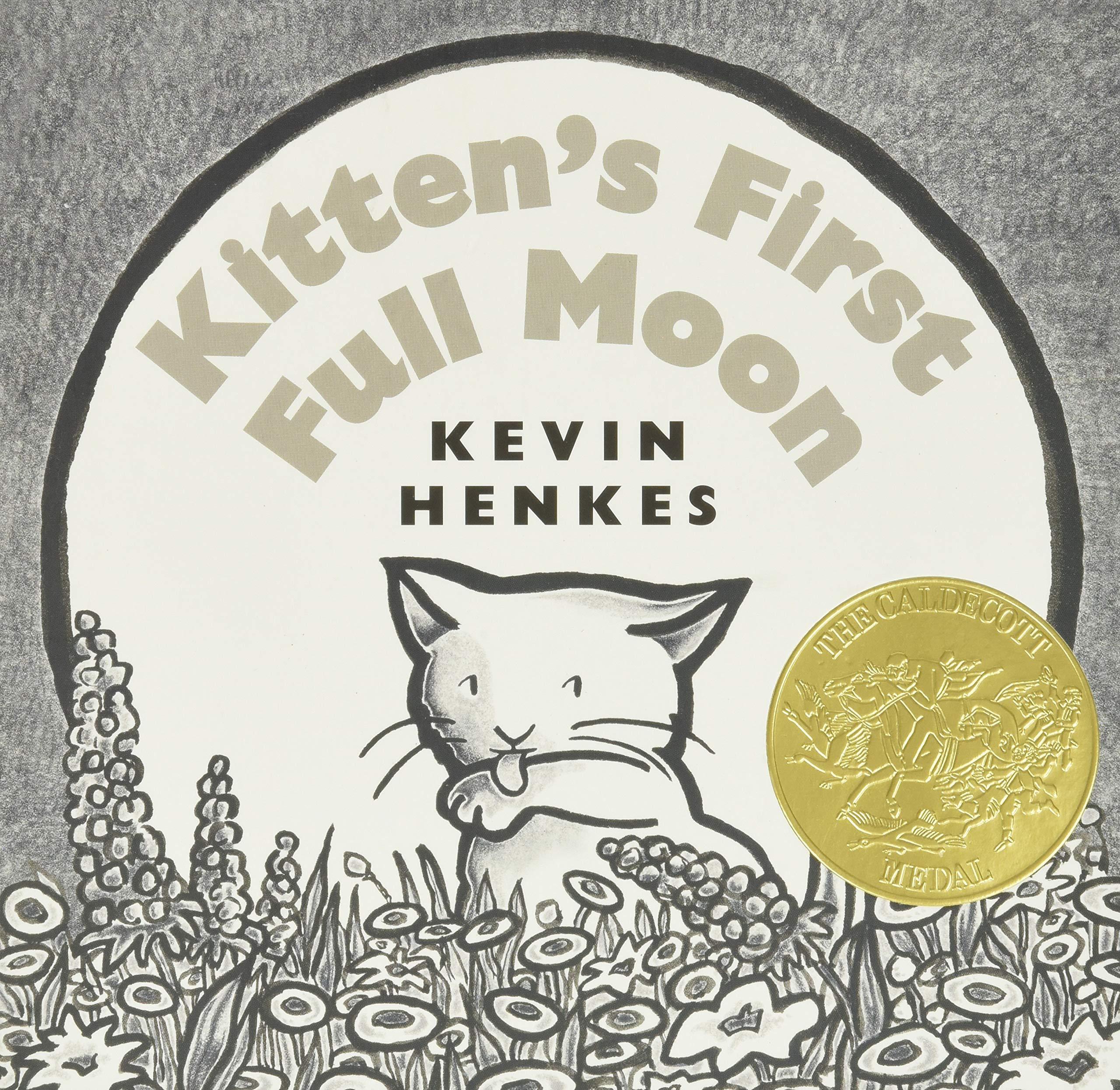 Kitten's First Full Moon by Kevin Henkes - Board book for children