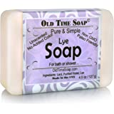 Pure and Simple Lye Soap