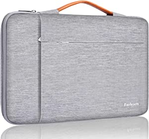 Ferkurn 13 inch Laptop Sleeve Case 13.3 13.5 13.6 Computer Carrying Bag Compatible with Old MacBook Air 2010-2017/ MacBook Pro 2012-2015/ Surface Laptop/ASUS/Thinkpad/Zenbook Probook Envy/Aspire