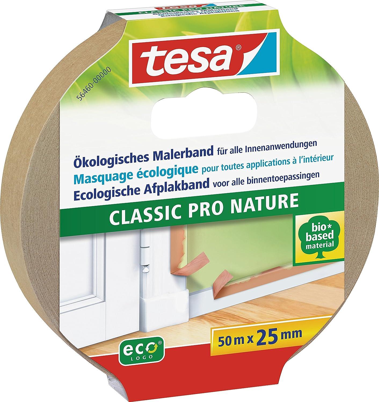 Tesa 05262-00000-00 Masquer Lignes Droites R/ésultats Propres et Rapides 50 m x 30 mm