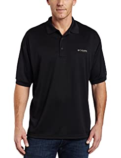 7e9ddd6d0a1 Columbia Men's PFG Perfect Cast Polo Shirt, Breathable, UV Protection
