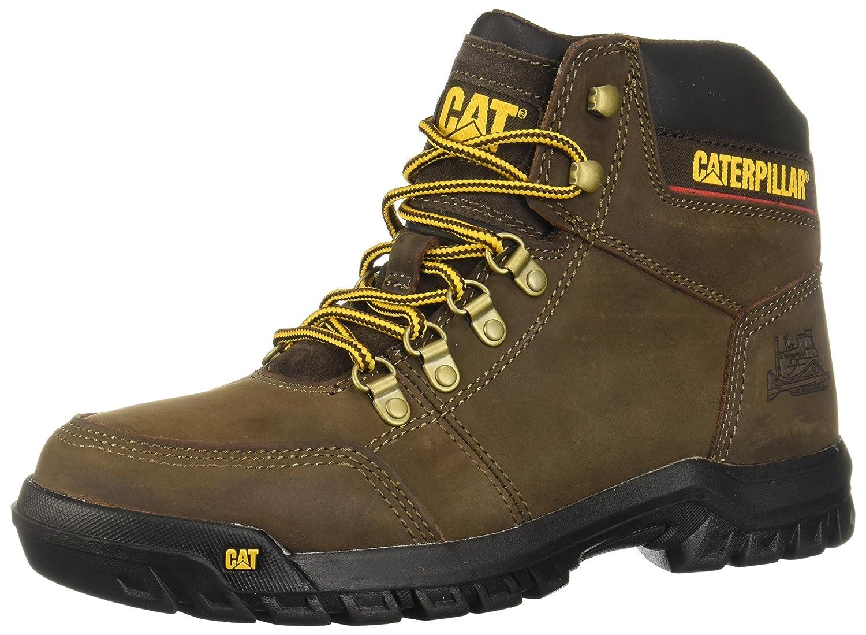 0234aea67cf Amazon.com: Caterpillar Men's Outline Leather Boot: Shoes