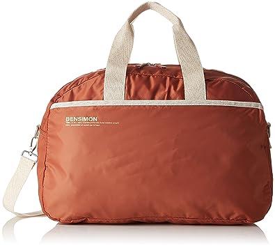 c9281bdb1a Bensimon Femme Sport Bag Sacs bandouliere Marron (Marron Cannelle ...