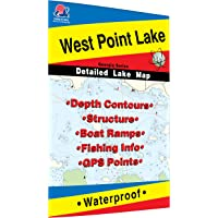 West Point Lake Fishing Map