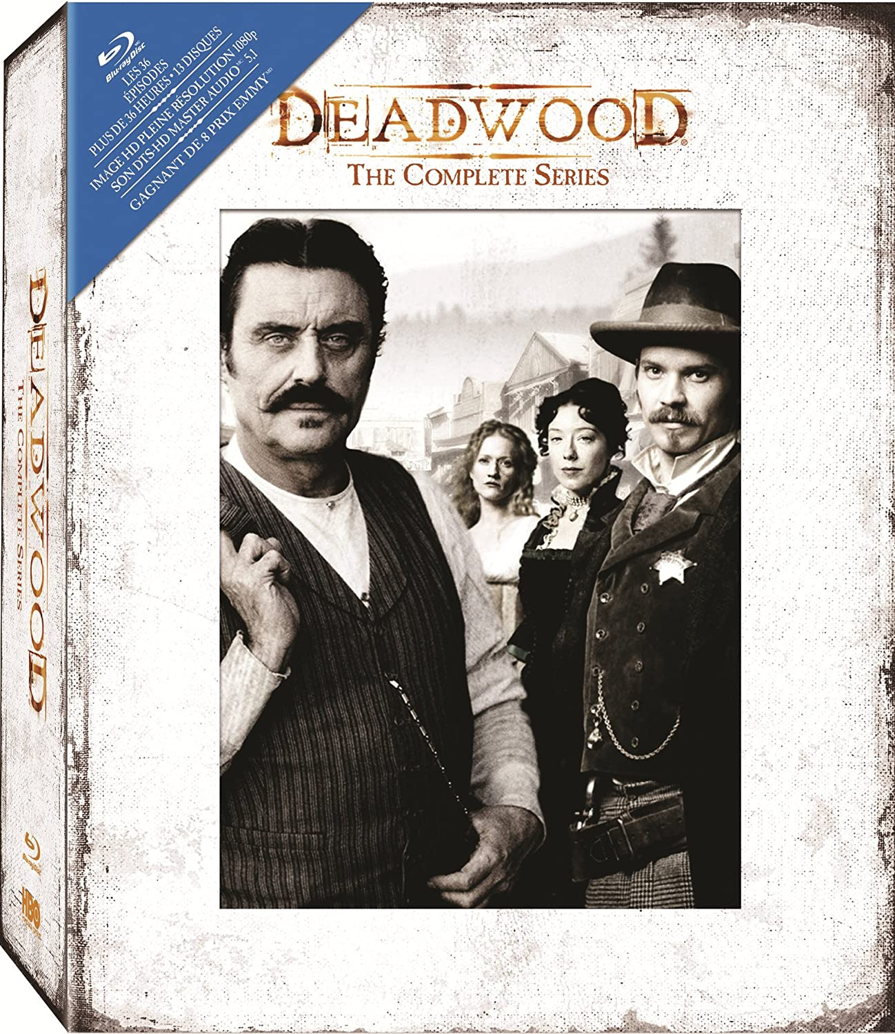 Deadwood: The Complete Series [Blu-ray] (Sous-titres français) Various HBO 29016994 Drama