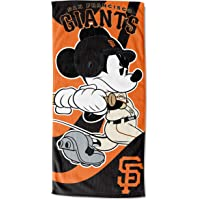 SAN FRANCISCO GIANTS MLB MICKEY BATTER UP BEACH TOWEL (30IN X 60IN)