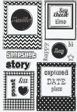 Amazon.com: Maya Road You\'ve Been Framed Stamp Set: Arts, Crafts ...