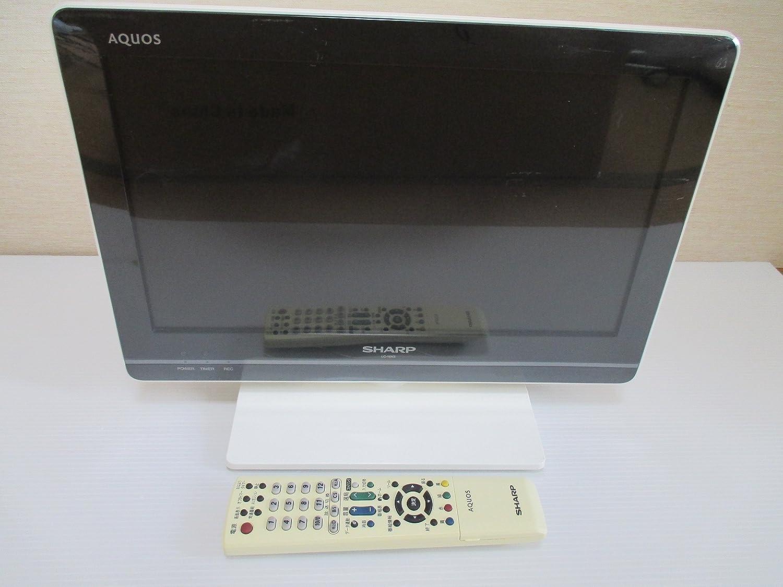 シャープ 16V型 液晶 テレビ AQUOS LC-16K5-W ハイビジョン   2011年モデル B004KNXZHS ホワイト