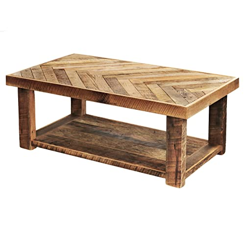 Reclaimed Wood Coffee Table 7