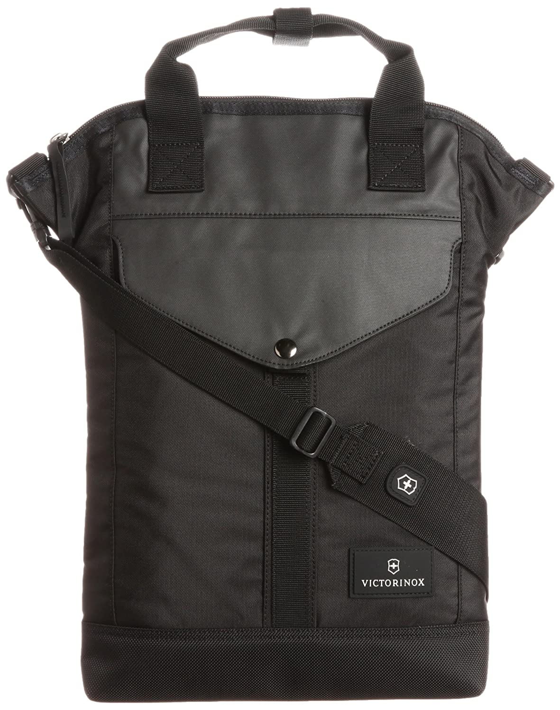 [ビクトリノックス] Victorinox トートバッグ 公式 Slimline Vertical Laptop Tote 保証書付 B00B3SME84 Bk Bk