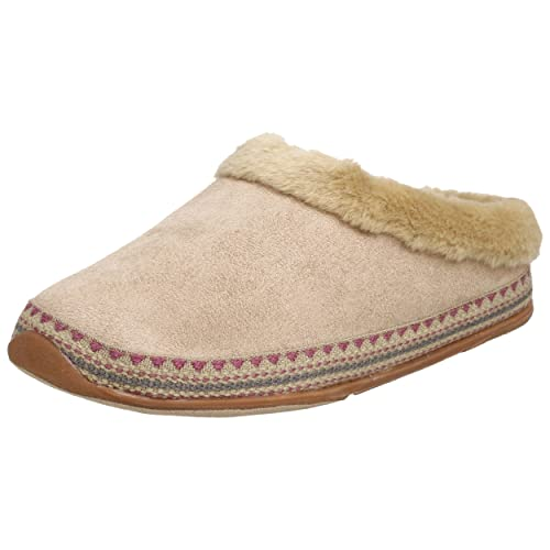 Deer Stags Slipperooz Women's Whenever Slipper,Sand,9 M