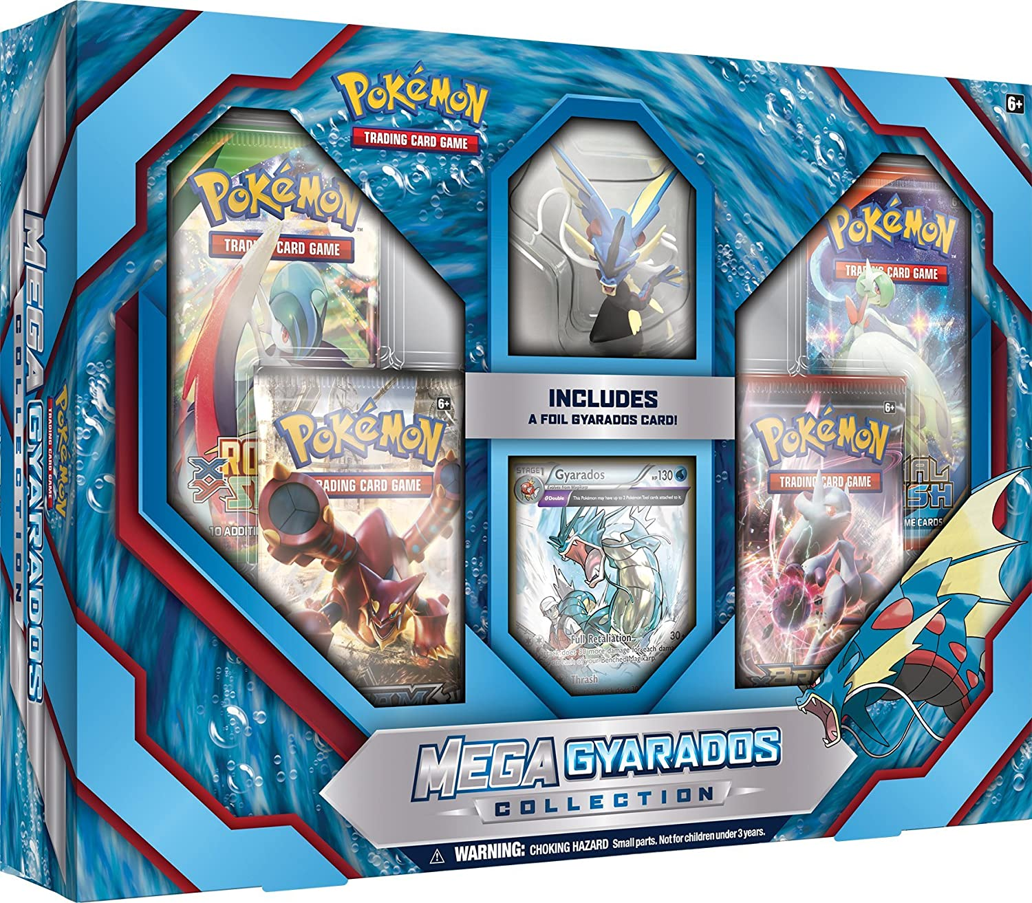 amazoncom pokemon tcg mega gyarados collection card game toys games - Where Can I Sell My Pokemon Cards In Person