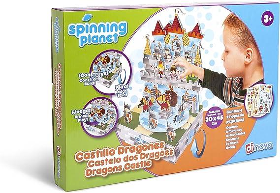 Dinova - Spinning Planet: Dragon Castle, labores para niños ...