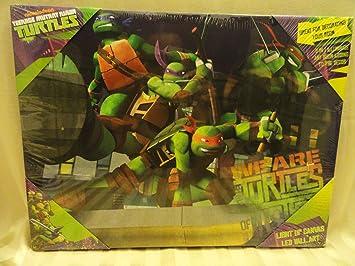 Amazon.com: Teenage Mutant Ninja Turtles Light Up Canvas LED ...