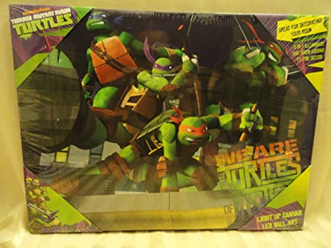 Amazon.com: Teenage Mutant Ninja Turtles Light Up LED de ...