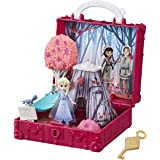 Disney Frozen Pop Adventures Enchanted Forest Set Pop-Up Playset with Handle, Including Elsa Doll, Toy Inspired 2 Movie