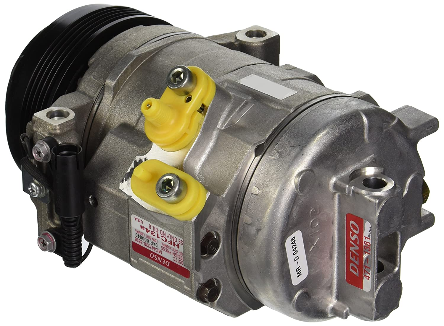 Denso 471-1381 New Compressor with Clutch 4711381DSE