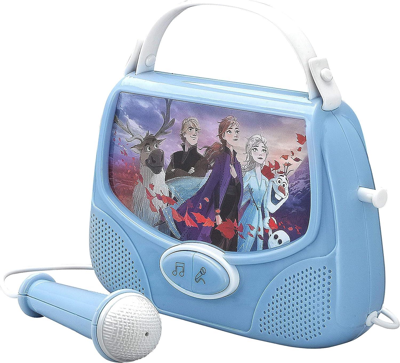 Disney Frozen 2 chanter Boombox karaoké Portable Enfants Jouet Filles Anna Elsa nouveau