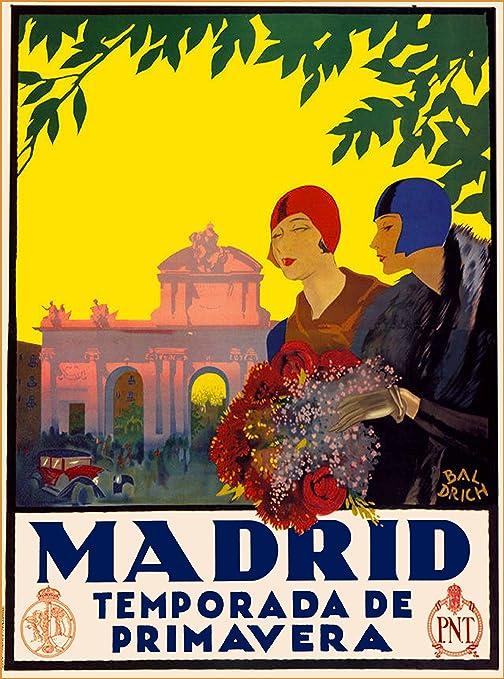Amazon.com: Madrid temporada de primavera España Español ...