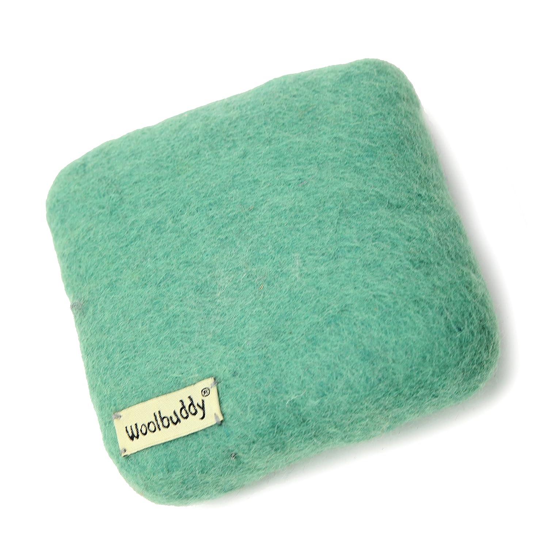 Woolbuddy Needle Felting 100% Woolen Mat (Teal) 4336935516