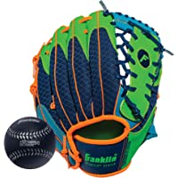 Franklin Sports Teeball Serie Fielding Guante de recreo con béisbol, 9.5-Inch