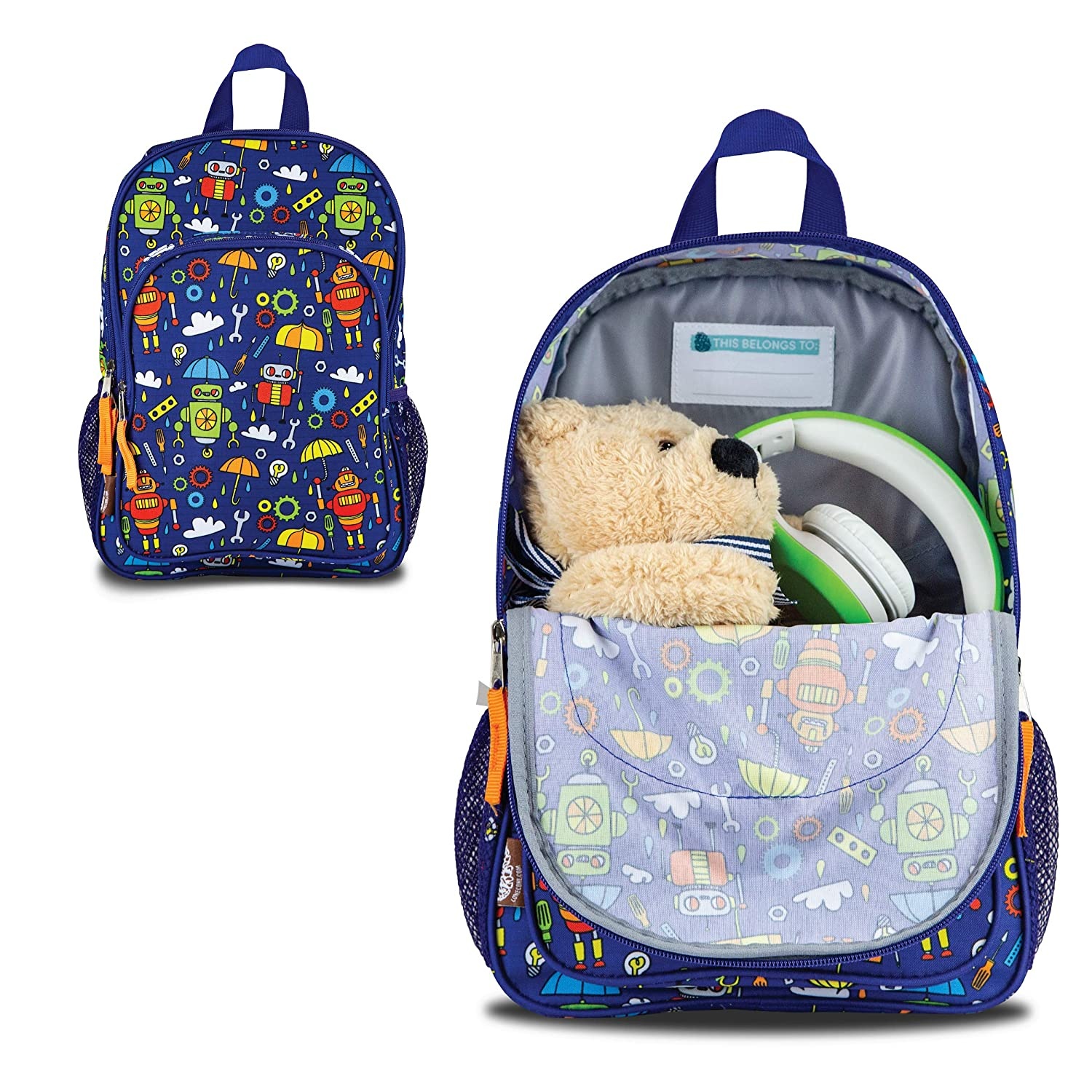 e4b4d6f08357 ... Canvas Preschool Backpack - School Bag for Little Boys and Girls LONE  CONE larger image