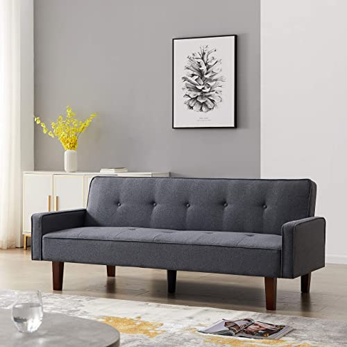 Futon Sofa Bed Convertible Sleeper Couch