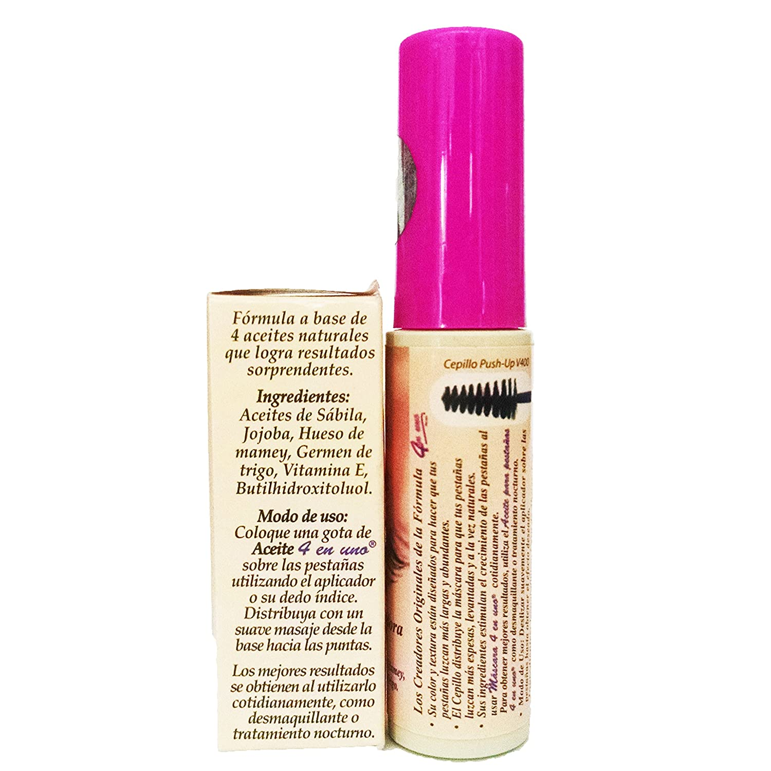Amazon.com : Combo Pack-Prosa Mascara For Enlarging Eyelashes 1 rimel con aceite de mamey oil Enlarging Eyelashes : Beauty
