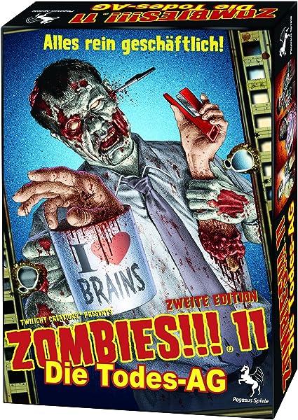 Pegasus 54211G Zombies, 11: Todes AG - Juego de Mesa (a Partir de ...