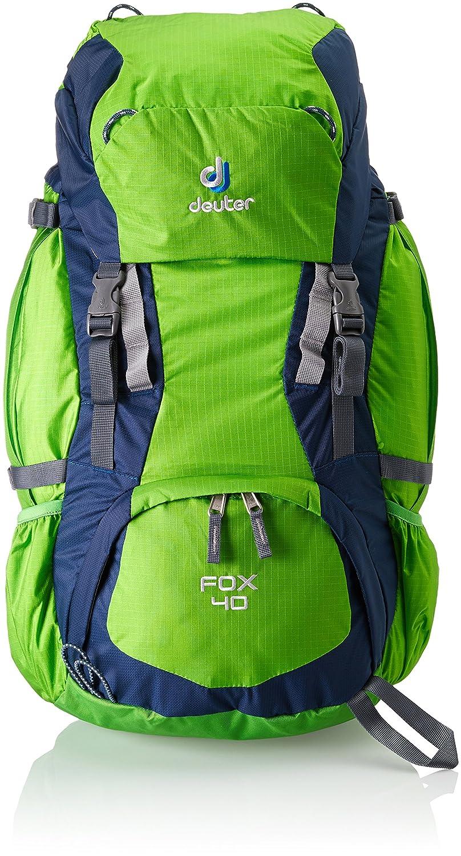 Deuter Fox Mochila, Unisex niños, Verde (Spring/Midnight), 40 l: Amazon.es: Deportes y aire libre