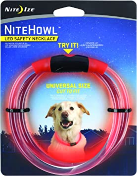 Amazon.com: Nite Ize nitehowl LED Seguridad Collar, Color ...