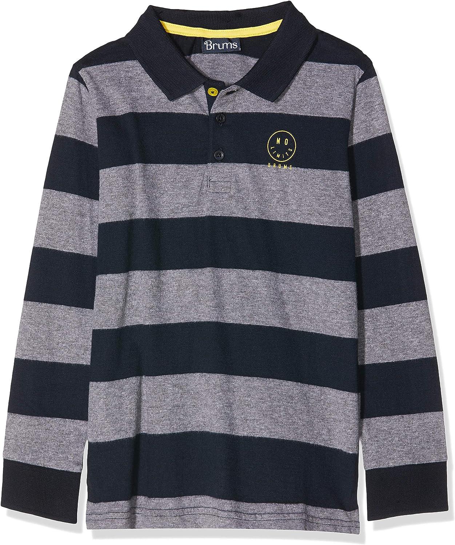Brums Boys Polo Jersey Rigato Shirt